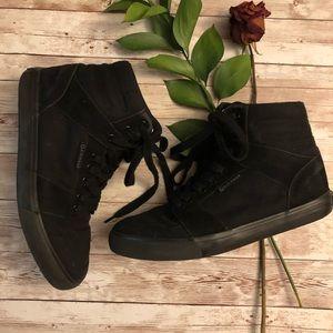 AirWalk black high top sneakers size 7